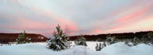 Зимний закат в Асбесте